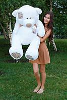 Плюшевый мишка Гриша 140 см белый. Белый мишка купить