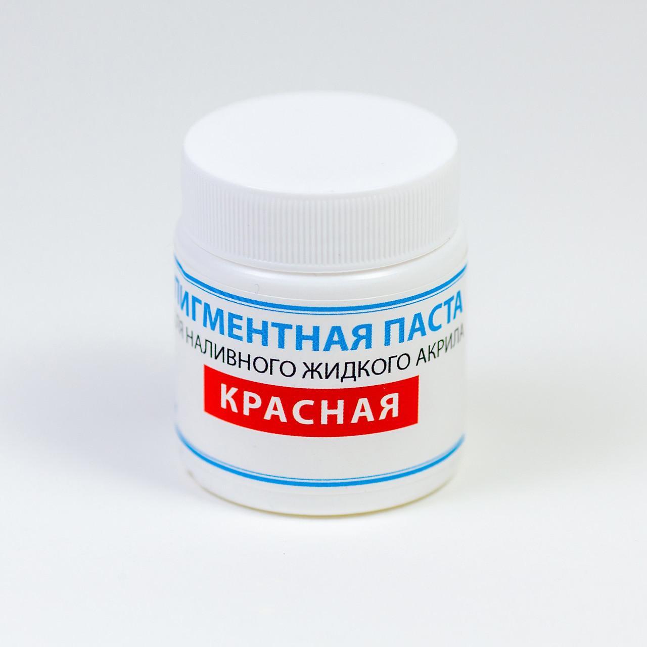 Краситель для жидкого акрила ПРОСТО И ЛЕГКО для реставрации ванн 80 г Красная ванна (5949)