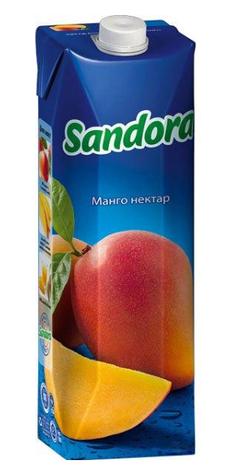 Sandora, Манго, 0,95 л, Сандора, Нектар натуральний, фото 2