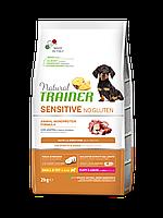 Natural Trainer (Тренер) Dog Sensitive Puppy&Junior Mini With Duck Сухой корм для щенков мелких пород 2кг