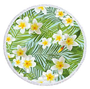 Пляжный коврик из микрофибры Тропический цветок, фото 2