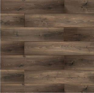 Ламинат Classen Pool WR Дуб коричневый микс52376 в прихожую, кухню, спальню водостойкий с фаской