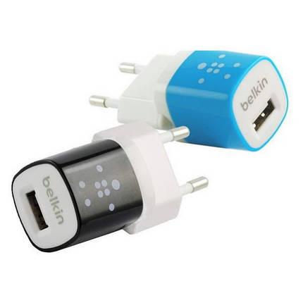 Зарядное устройство Belkin с 1 USB выходом + кабель MicroUSB, фото 2