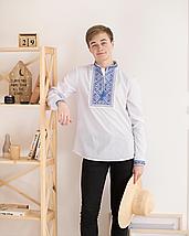 Подростковая сорочка с вышивкой - 13,14,15,16 лет, фото 2