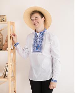 """Подростковая сорочка с вышивкой """"Орнамент"""""""