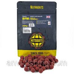 Бойлы Nutrabaits BFM Krill & Cranberry Диаметр 15мм - 400гр