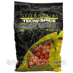 Бойлы Nutrabaits Tecni-Spice Диаметр 15мм - 400гр
