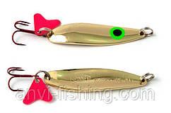Блесна Spinnex Krocodile Gold 16g, длина - 70mm