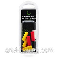 Пена Gardner ZIG RIG Foam - Mixed - 12шт Ø6mm, 23mm, Mixed
