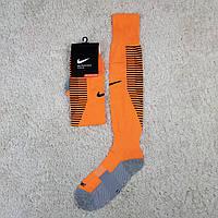 Оранжевые гетры Найк футбольные 19-20