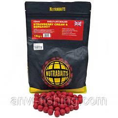 Бойлы Nutrabaits STRAWBERRY CREAM & BERGAMOT 1kg 15mm 1kg