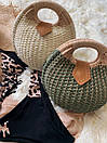 Женская летняя сумочка песочная, фото 4