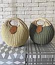 Женская летняя сумочка песочная, фото 5