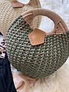 Женская летняя сумочка песочная, фото 6