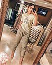 Свободные джинсы Slouchy с высокой посадкой джинсы слоучи белые, фото 10