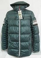Куртка зимняя Braggart зеленая р.S(46)