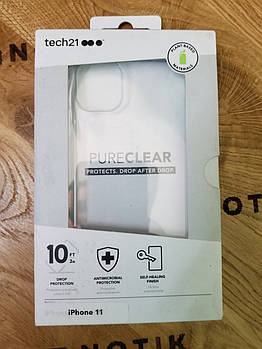 Чехол Tech21 PURE CLEAR для IPhone 11