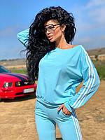 Костюм спортивный женский чёрный, красный, голубой 42-44,44-46,46-48