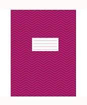 """Книга офисная A4 на скобе 96 листов клетка """"Зигзаг"""",розовая 4А696К-022"""