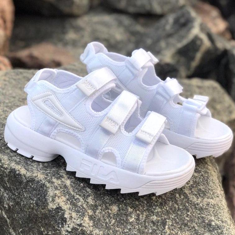 Сандалии женские Fila Disruptor Sandals (3 ЦВЕТА!), босоножки fila, женские сандалии фила