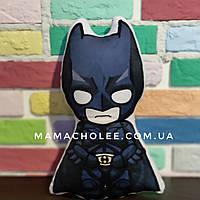 Декоративная детская подушка Бэтмен Герои Марвел