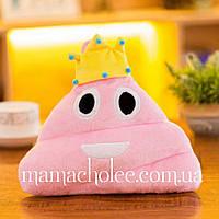 Декоративная прикольная подушка Какашка Принцесса