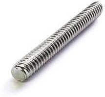 Шпилька метровая М5 (упаковка 200 штук) резьбовая / стержень метрический оцинкованный DIN 975 6*1000