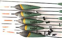 Поплавок Каида для рыбалки, глухой, 17,5см, вес 0,75г
