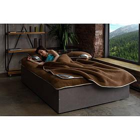 Комплект постельного белья из шерсти верблюда Woolmark HILZER Полуторный 160х200 см Шерсть/Сатин+Наматрасник