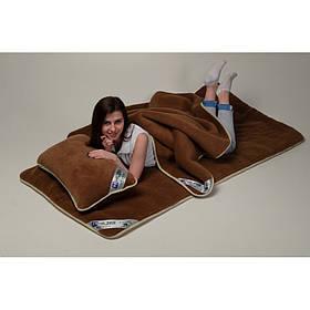 Комплект постельного белья из шерсти верблюда Woolmark HILZER Двуспальный 180х200 см Шерсть/Шерсть+Наматрасник