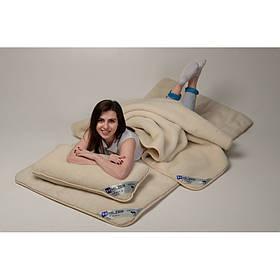 Комплект постельного белья из шерсти мериноса Woolmark HILZER Евро 220х200 см Шерсть/Шерсть+Наматрасник