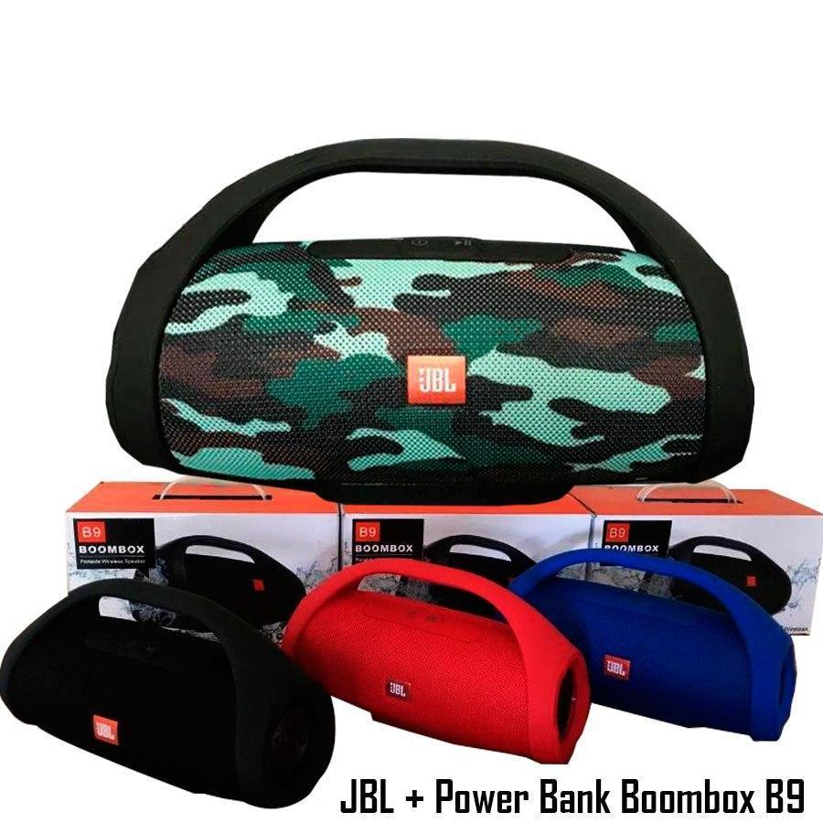 Портативная bluetooth колонка JBL Boombox B9 (Реплика)