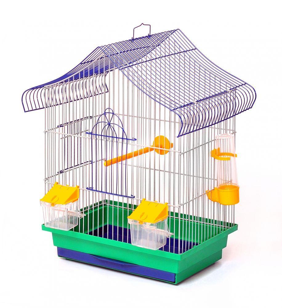 Клетка для птиц Лорі Мини-1 45 х 33 х 23 см Зеленая