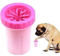 Лапомойка средняя DEXAS MUD BUSTER для собак Розовый
