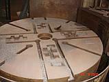 Верстат токарно-карусельний мод. 1512, 1979 робочий, фото 3