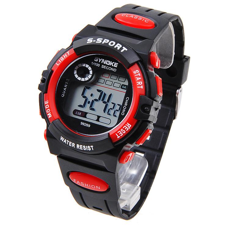 Часы мужские наручные S- SPORT red