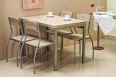 Обеденный комплект / Стол + стулья 4 шт. Astro беж