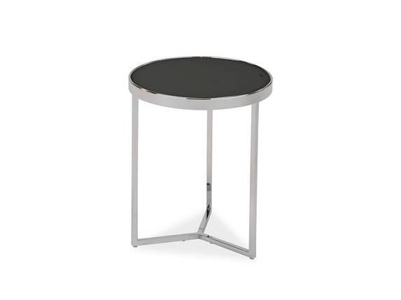 Кофейный столик круглый на металлическом каркасе Delia I, фото 2
