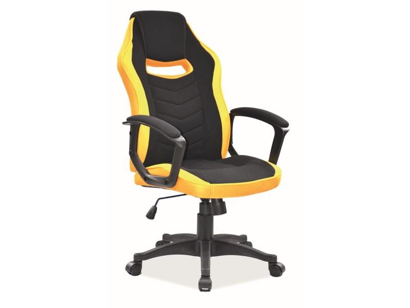 Кресло компьютерное Camaro черное / желтое