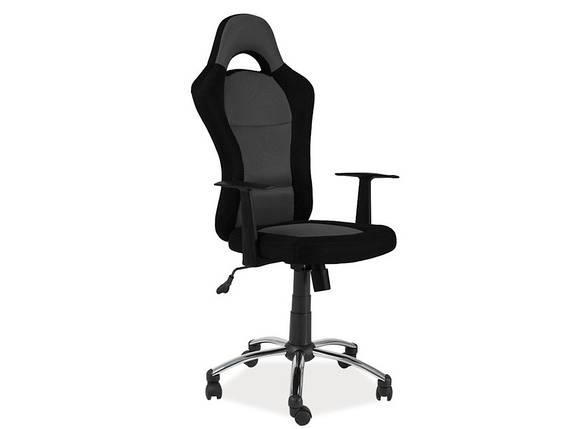 Кресло компьютерное Q-039 черное, фото 2