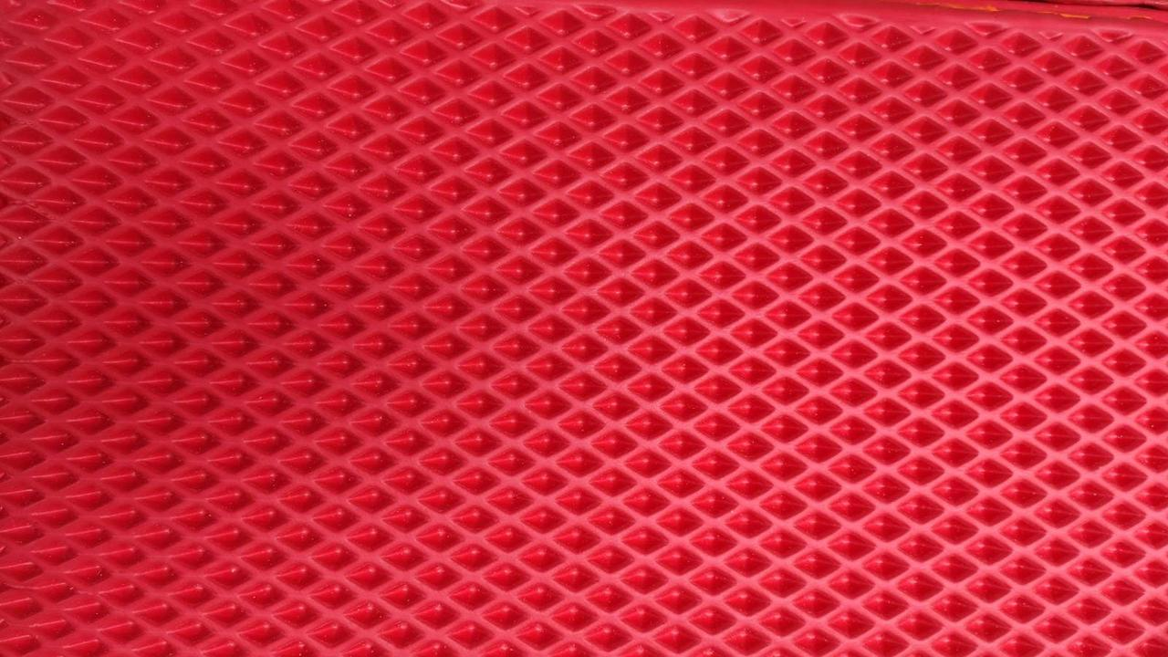 Эва EVA в листах для автоковриков, красная 1х1,5 м