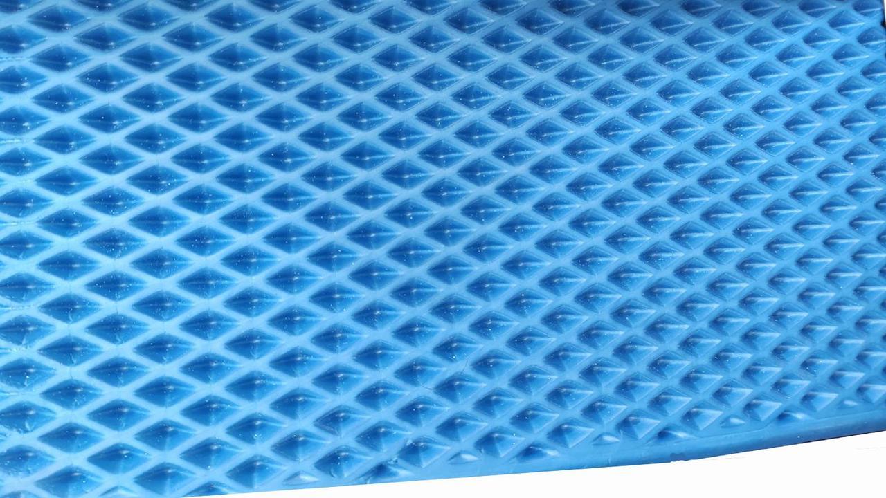 Эва EVA в листах для автоковриков, синяя 1х1,5 м