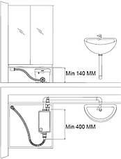 Санітарний насос для ванни і умивальника Fala 75945, фото 3