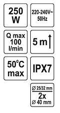 Санітарний насос для ванни і умивальника Fala 75945, фото 2