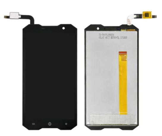 Оригинальный дисплей (модуль) + тачскрин (сенсор) для Doogee (HomTom) Zoji Z8 (черный цвет)