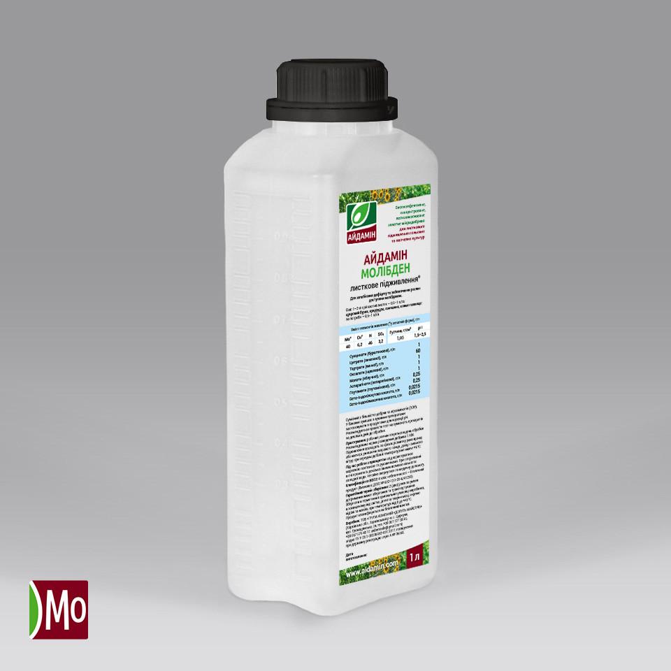 Айдамин Молибден — концентрированное жидкое микроудобрение листовая подкормка