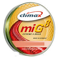 Шнур Climax Mig Extreme 8 Braid Olive-Moss Green 0.12