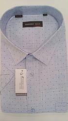 Рубашка мужская короткий рукав ботал Ferrero Gizzi SKY 2763BK