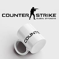 Чашка з принтом CS:GO. Counter-Strike, фото 1