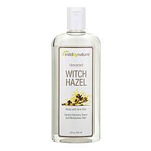 "Тоник с гамамелисом Mild By Nature ""Witch Hazel Unscented Alcohol-Free"" без спирта и запаха (355 мл)"